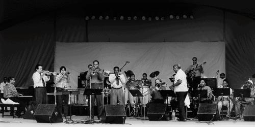 Dizzy Gillespie jazz band tribute